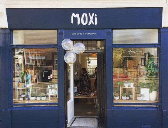 moxi shop art and gifts in brighton kemptown