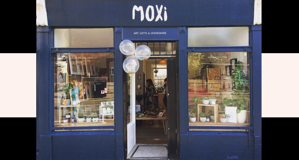 moxi art shop in kemptown brighton